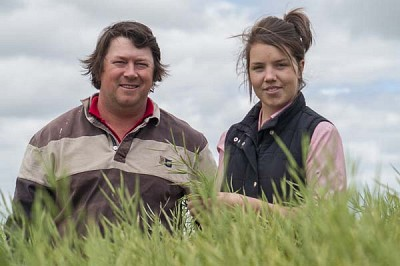 Canola grower and agronomist